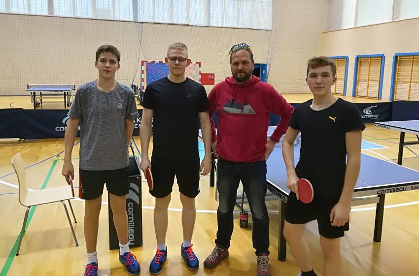 Mistrzostwa Gliwic wTenisie Stołowym